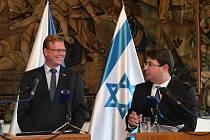 Pavel Bělobrádek a Ofir Akunis na společném jednání o česko-izraelské spolupráci