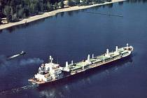 Loď Liberty Sun, kterou se neúspěšně pokusili obsadit somálští piráti