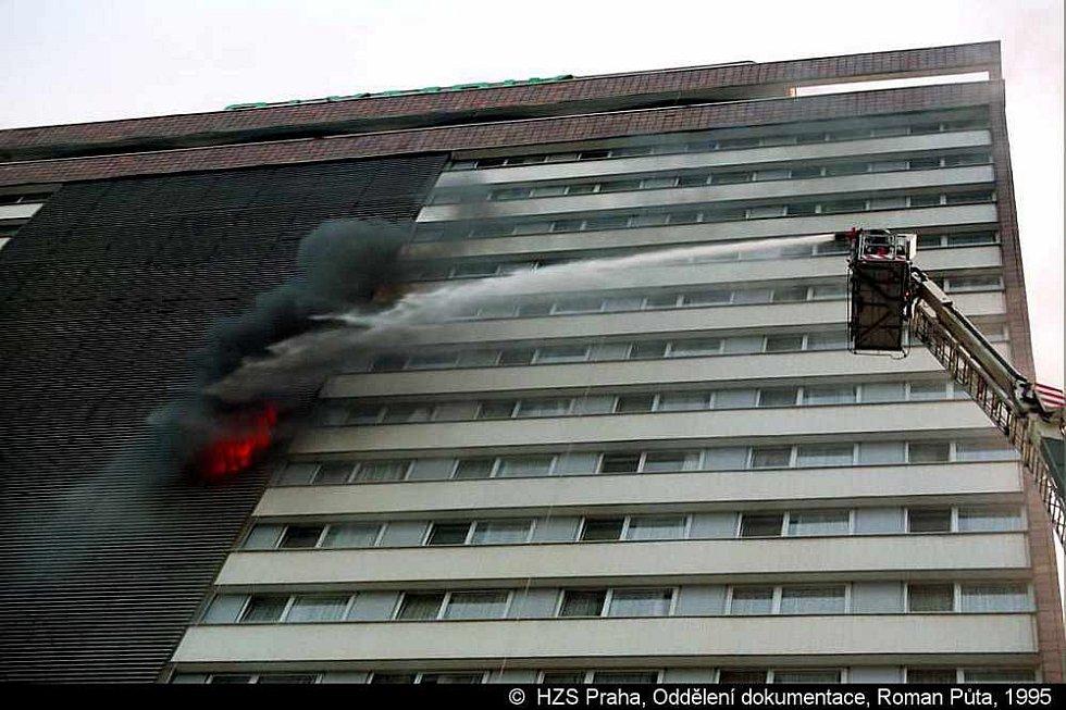 Požár hotelu Olympi