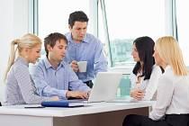 Pracovní schůzka - Ilustrační foto