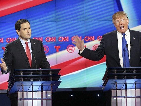Trump se postavil za svého někdejšího rivala Marca Rubia a vyzval ho, aby se v listopadu ucházel o znovuzvolení do Senátu Spojených států.