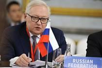 Náměstek ruského ministra zahraničí Sergej Ryabkov