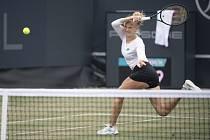Česká tenistka Kateřina Siniaková na turnaji v Bad Homburgu.