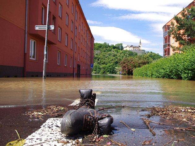 Povodně 2013 - Po velké vodě zůstala jenom spoušť.