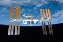 Mezinárodní vesmírná stanice.