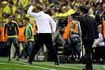 Trenéři Liverpoolu a Villarealu Jurgen Klopp a Marcelino Garcia.