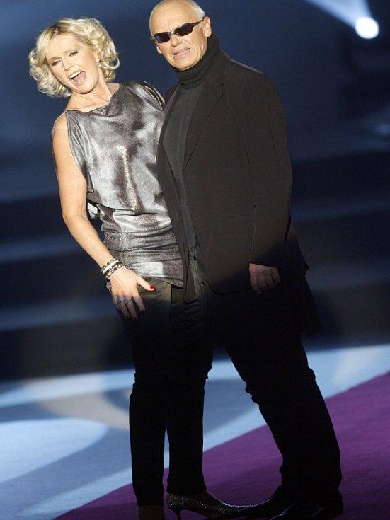 Helena Vondráčková a Jiří Korn