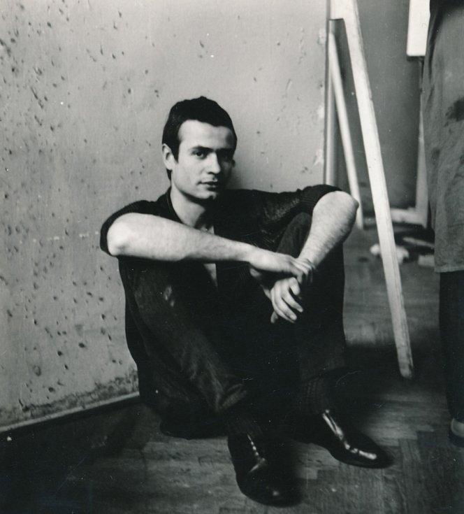 Miroslav Koval v roce 1965, kdy začal studovat na AMU