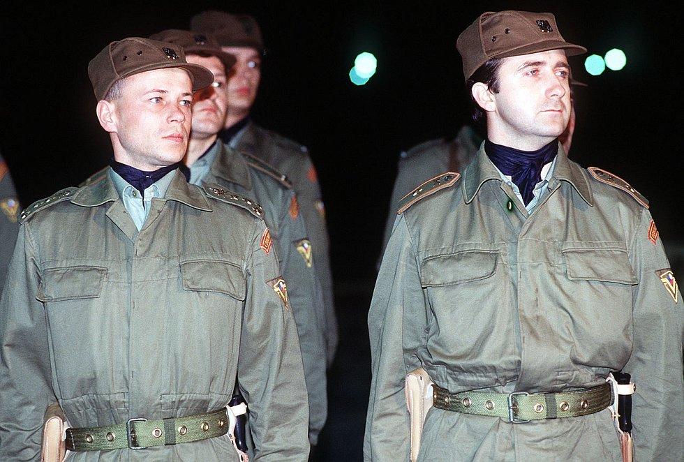 Českoslovenští vojáci v Perském zálivu