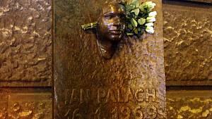 Pomník Jana Palacha v Praze