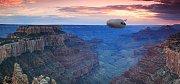 AirLander při přeletu nad Grand Canyonem