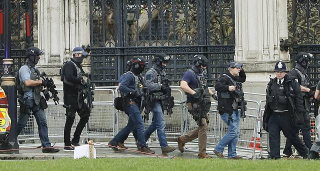 Útok před britským parlamentem