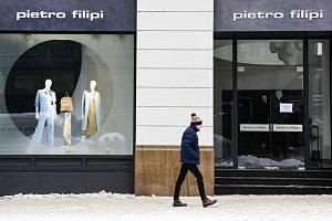 Prodejna Pietro Filipi v Praze na Národní třídě