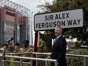 Bývalý trenér Manchesteru United Alex Ferguson má svou ulici.