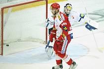 Petr Kadlec ze Slavie překonal v samostatných nájezdech brankáře Liberce Marka Schwarze a rozhodl o vítězství.