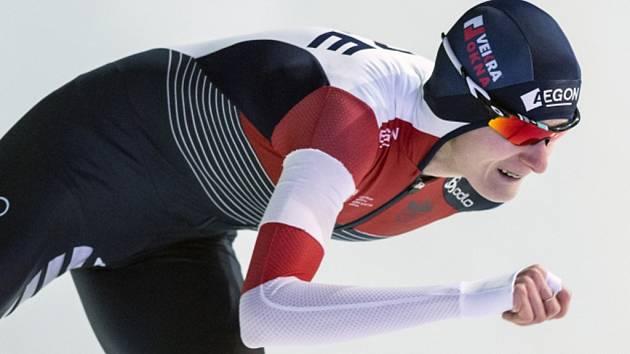 Rychlobruslařka Martina Sáblíková ve finále SP v Erfurtu triumfovala v závodě na 3000 metrů.