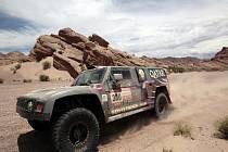 Násir Attíja na Rallye Dakar.
