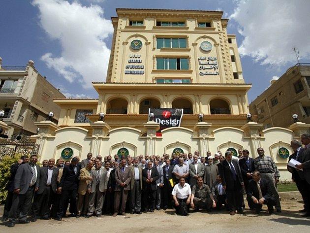 Muslimské bratrstvo v Káhiře.