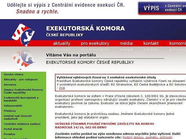 Exekutorská komora ČR