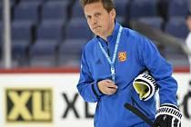 Trenér finských hokejistů Lauri Marjamäki.
