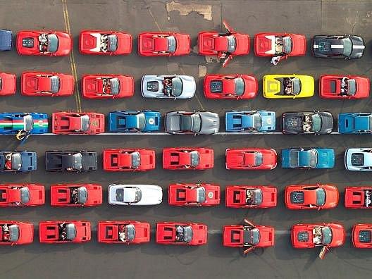 Akce Ferrari Parade