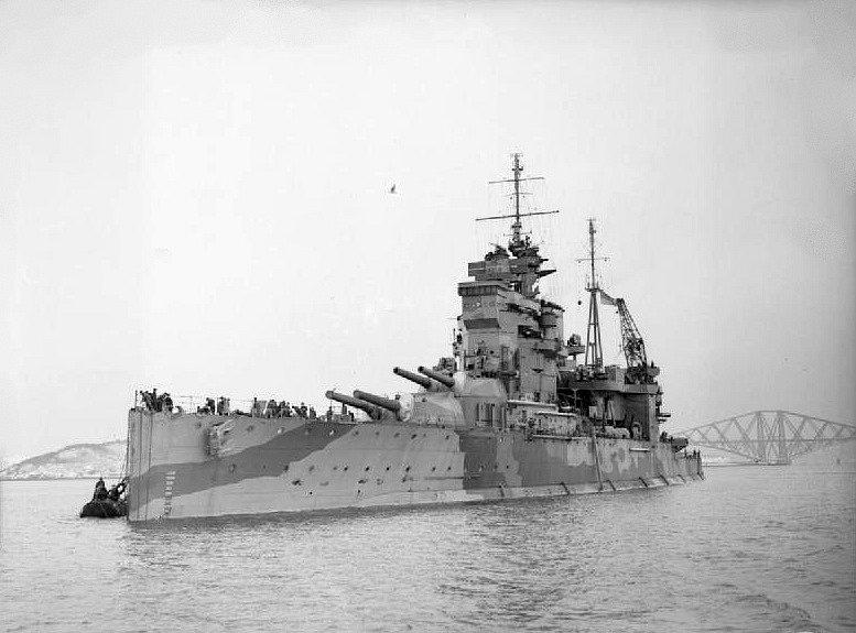 HMS Queen Elisabeth z roku 1913