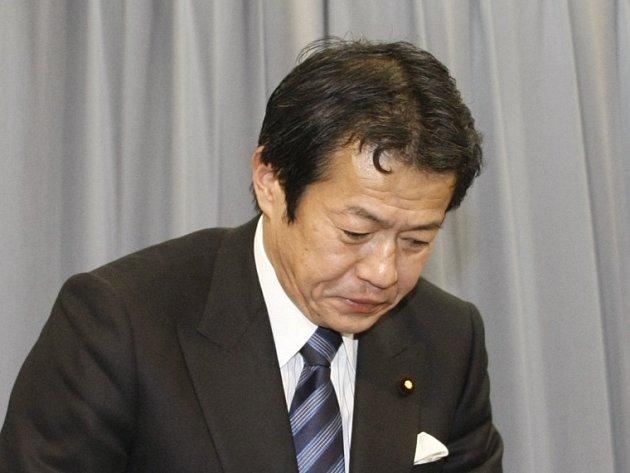 Japonský ministr financí Šoiči Nakagawa
