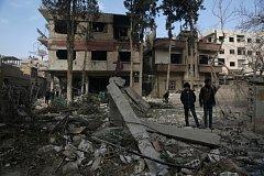 Letecké útoky v Sýrii