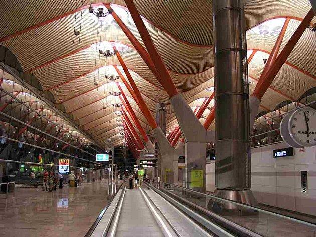 Letiště Bajaras v Madridu. Ilustrační foto,