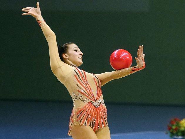 Moderní gymnastka Monika Míčková.