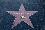 Pierce Brosnan má svou hvězdu na hollywoodském chodník slávy.