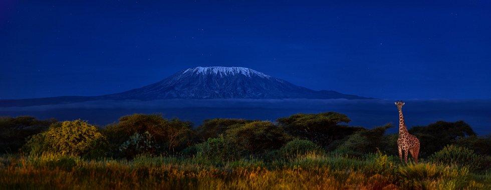 Keňský národní park Amboseli