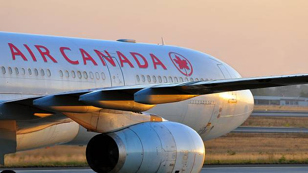 Letadlo společnosti Air Canada