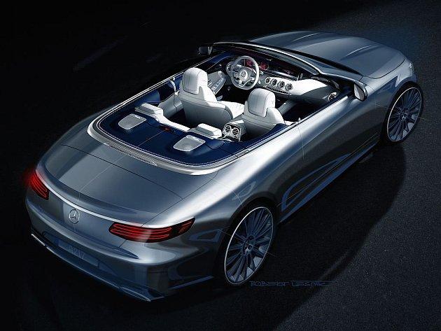 Mercedes-Benz třídy S dorazí i jako kabriolet.