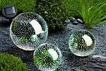 Solární zahradní dekorace Emoce, sada 3 ks