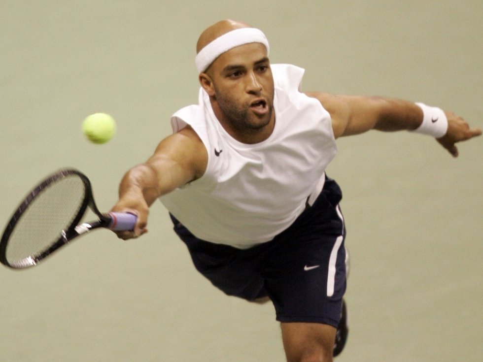 Americký tenista James Blake.