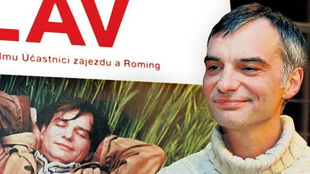 Ivan Trojan představil novinářům na tiskové konferenci ve Slovanském domě v Praze nový film Václav.