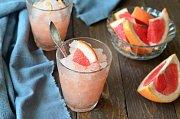 Grapefruitová granita