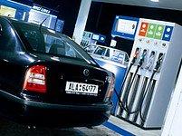 Benzínová stanice. Ilustrační foto.