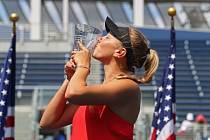 Americká tenistka Amanda Anisimová na archivním snímku
