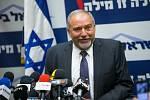 Izraelský ministr obrany Avigdor Liberman rezignoval