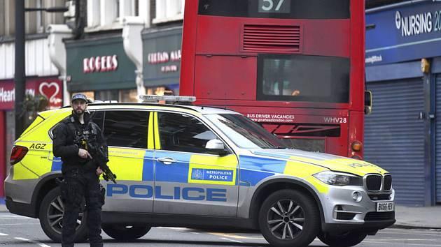 Útok nožem v jižním Londýně