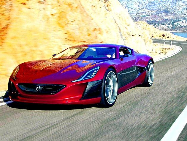 Auto budoucnosti? Chorvatská firma tvrdí, že její elektromobil předčí benzinové konkurenty téměř ve všem. Elegantní vůz si však kvůli vysoké ceně může dovolit jen málokdo.