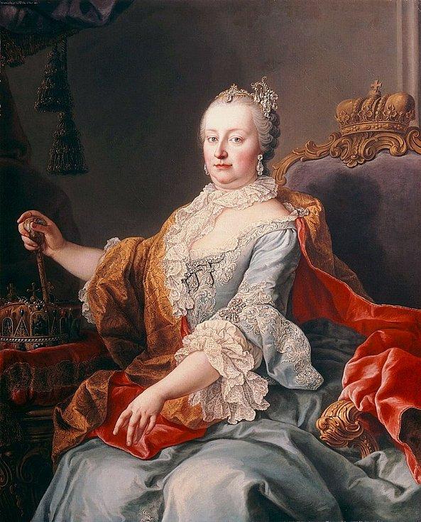 Císařovna Marie Terezie krvavě potlačila řadu rolnických povstání