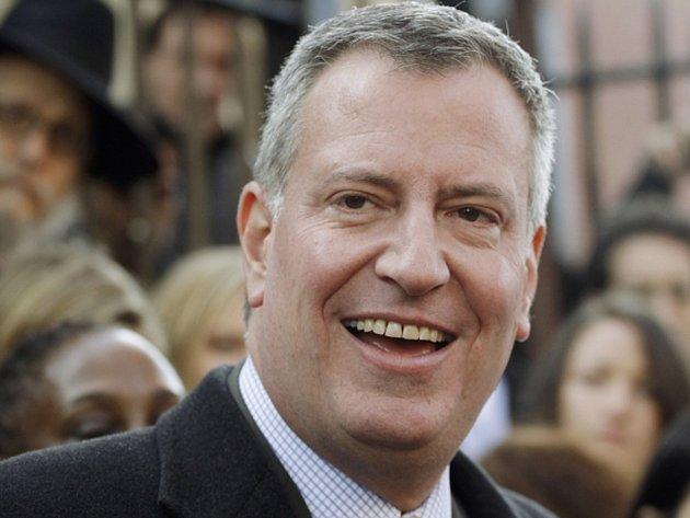 Starosta New Yorku Bill de Blasio.