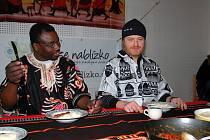 Dnes jím jako Afričan. Akce se zúčastní i Pavel Šporcl
