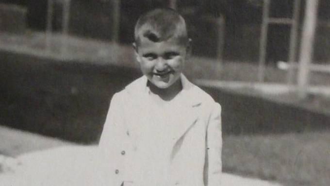 František Lederer v dětství