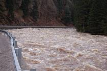 Řeka Otava na Klatovsku