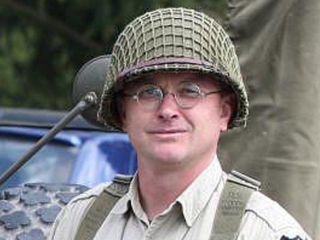Rudolf Bayer z Military Car Clubu Plzeň