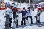 Čeští showborďáci se chystají na rychle se blížící olympijské závody ve slopestylu.